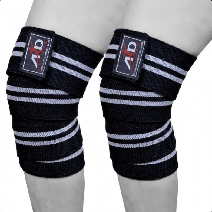 ARD Heavy Duty Cotton Elastic Knee Wraps