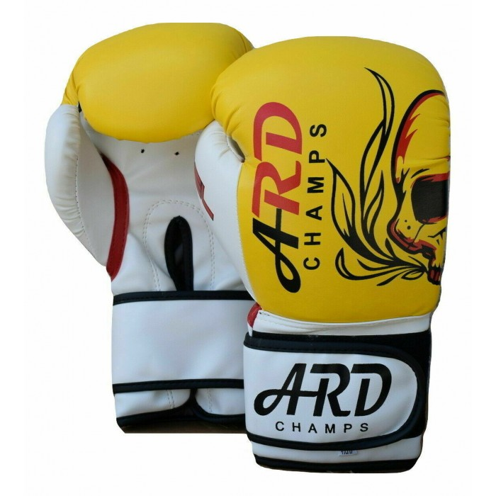 ARD® Boxing Gloves Art Leather Punch Training Sparring Kickboxing MMA Fighting