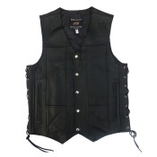 Leather Vests (6)