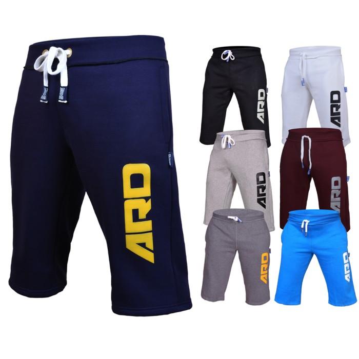6b9adae842b0 ARD Mens Cotton Fleece Shorts Jogging Casual Home Wear MMA ...