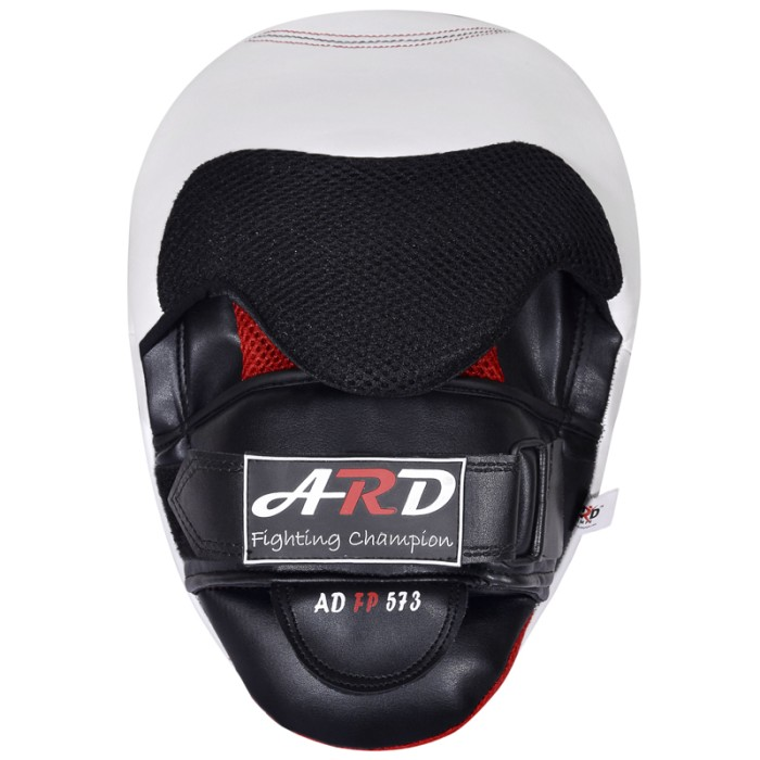 ARD CHAMPS™ GEL Punch Mitts Leather Art Boxing Punching MMA Training Kick Boxing