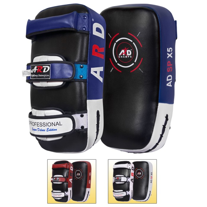 ARD Kick Boxing Strike Curved Thai Pad MMA Focus Muay Thai Punch Shield Mitt