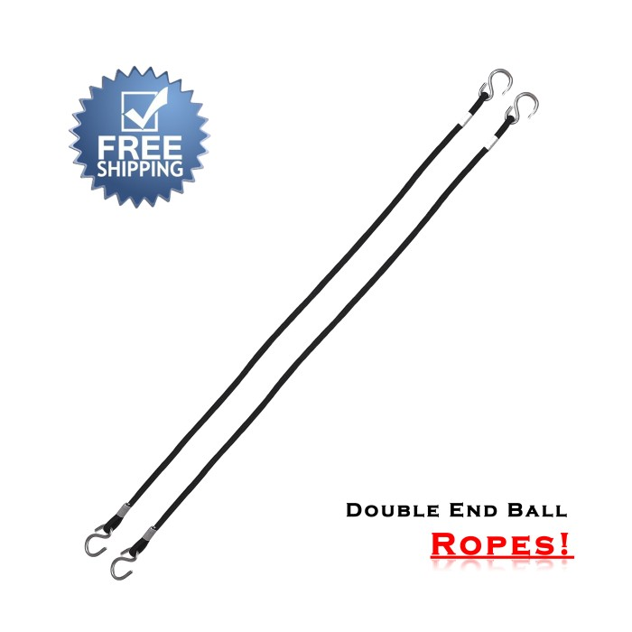 ARD CHAMPS™  Double End Ball Ropes For Boxing MMA Punching Workout Training