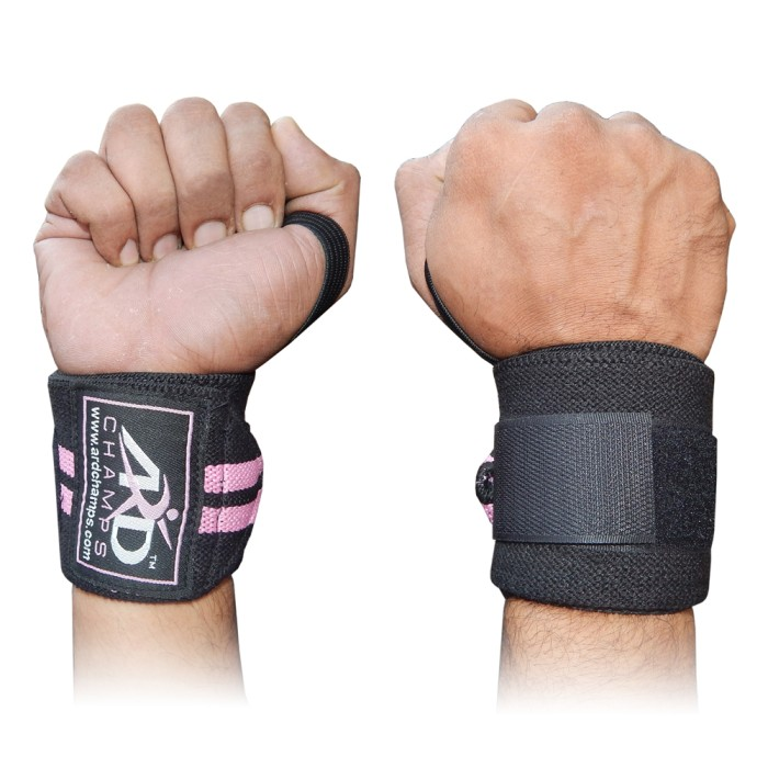 Quality Gym Weight Lifting Strap Heavy Duty Wrist: ARD Gym Weight Lifting Wrist Wraps Bandage Power Hand