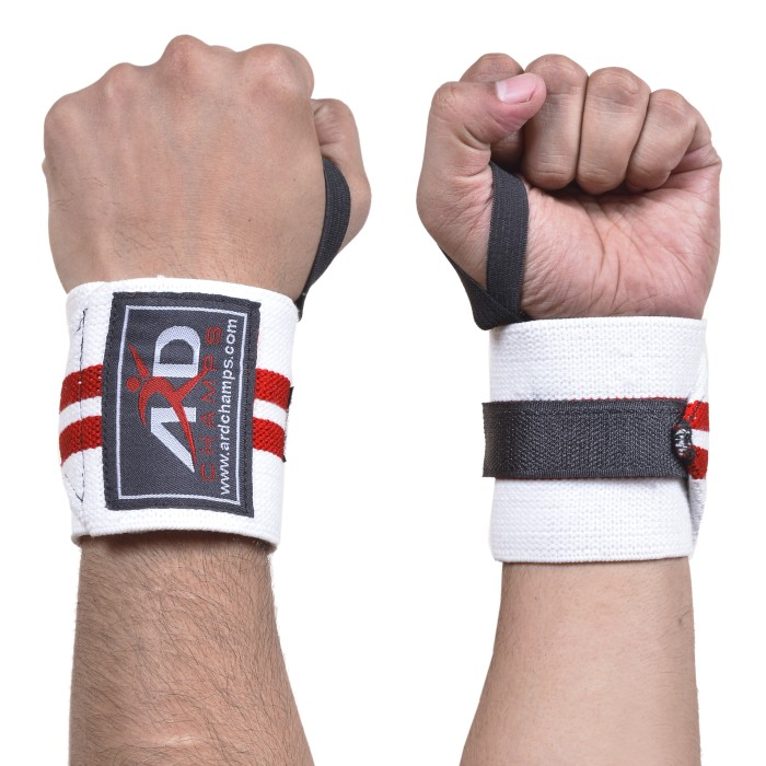 Weight Lifting Wrist Wraps Bandage Support Gloves Gym: ARD Gym Weight Lifting Wrist Wraps Bandage Power Hand