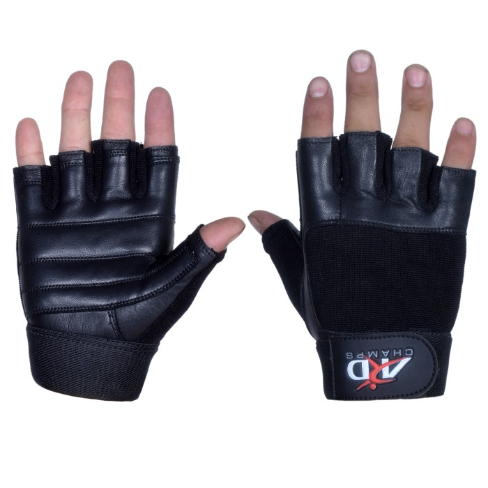 ARD Weight Lifting Gloves Full Black